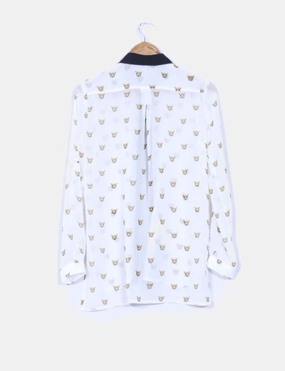 Camisa blanca tigres