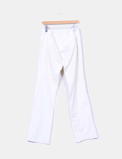 Pantalon beige recto