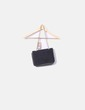 Black suede bag with studs NoName