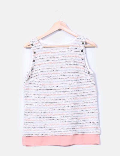 Camiseta texturizada Pull&Bear