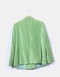 Chaqueta verde de terciopelo Talla & Moda