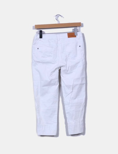 Pantalon pirata blanco