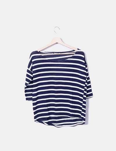 Pull marin tricot Shana