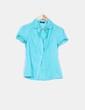 Blusa turquesa Suiteblanco