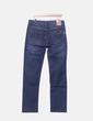 Jeans bleu foncé droite Hermès