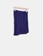 Mini falda asimétrica azul marino Sweewë