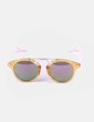 Gafas de sol bicolores detalle metálico NoName