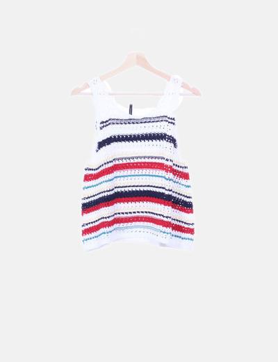 Camiseta tricot colores