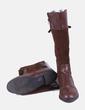 Botas altas marrones combinado Marypaz