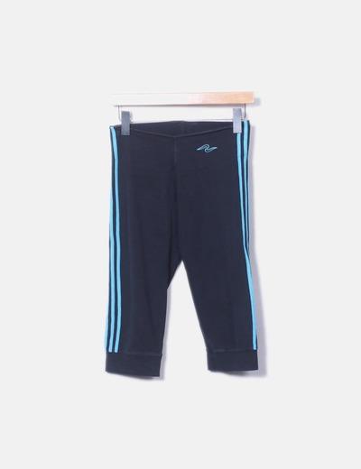 Pantalon bleu à bande latérale NoName