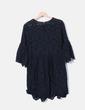 Robe noire de guipure NoName