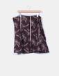 Falda midi marrón bordada NoName