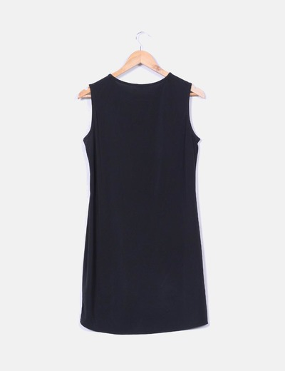 Vestido negro elastico