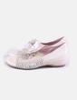 Zapato beige troquelado Pitillos