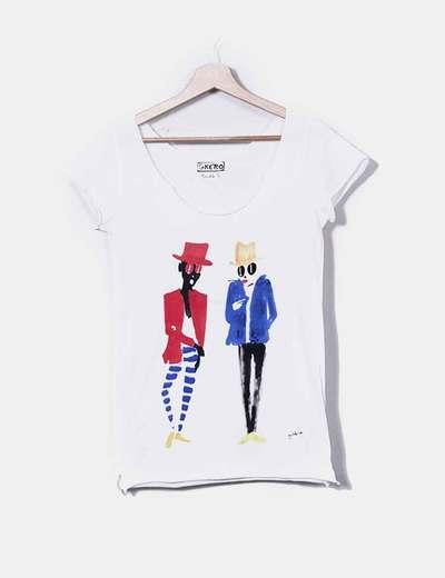 T-shirt Gkero