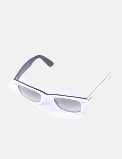 Gafas de sol pasta blanca