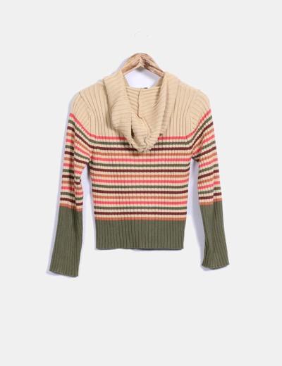 Sudadera tricot de rayas