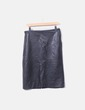 Falda midi negra Zara