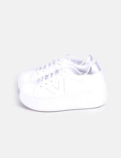 Blancas Victoria Con Zapatillas Plataforma Plataforma Victoria Zapatillas Blancas Con nEYXxUqO