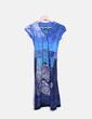 Robe bleu mini imprimée Desigual