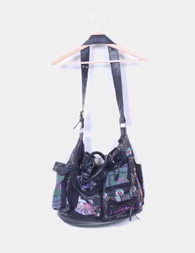 Maxi bolso con estampado floral