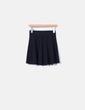 Falda con vuelo negra H&M