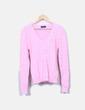 Decote em cor-de-rosa de brincos rosa Ralph Lauren