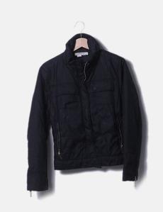 b9fbdf09868 Plumas negro con cremallera Zara