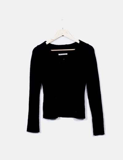 Jersey negro textura Select