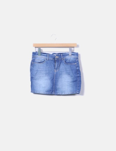 Mini-jupe denim Springfield