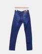Jeans denim slim tiro alto Zara