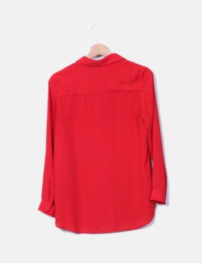 Camisa fluida roja