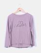 Camiseta rosa print NoName