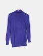 Jersey Azul klein cuello vuelto Rinascimento