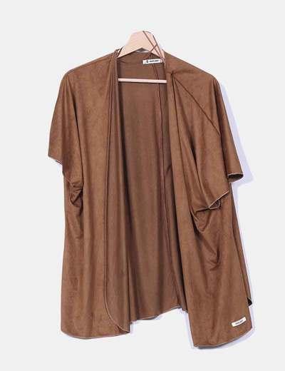 Kimono antelina marrón Double Agent
