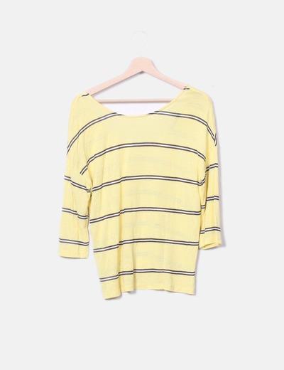 Suéter punto amarillo