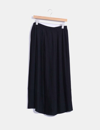 a6b127947 Falda larga negra