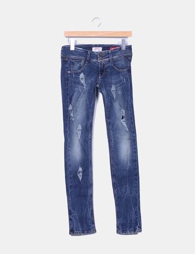 Jeans con rotos MET