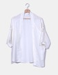 Kimono blanco mangas crochet Suiteblanco