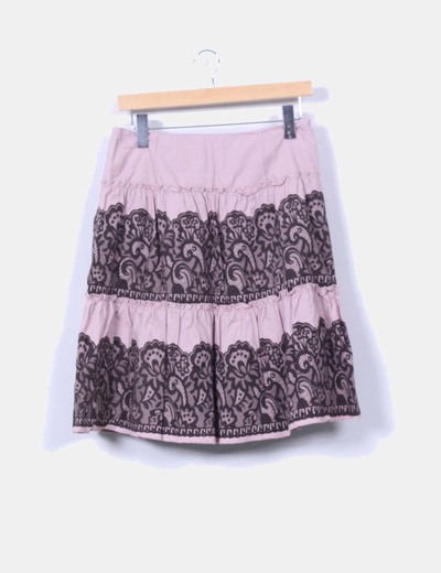 Falda estampada Vero Moda