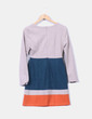 Vestido recto tricolor Kling