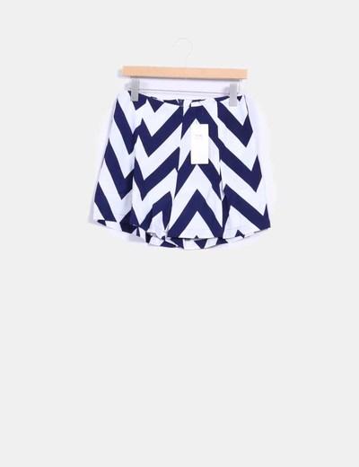 Shorts estampado navy Vera & Lucy