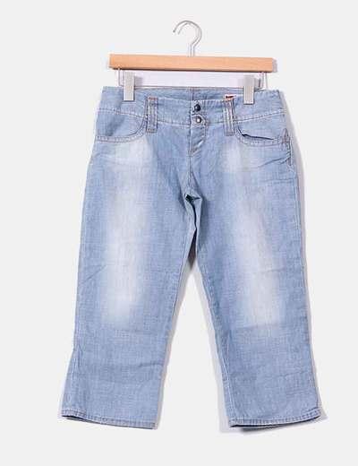 Jeans pirata claro GAS