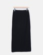 Falda larga de punto negra Studio Classics