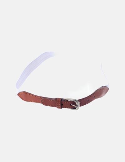 Cinturón elástico blanco