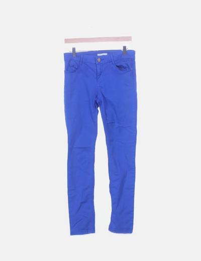 Jeans azul eléctrico