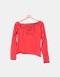 T-shirt rouge imprimé Caramelo