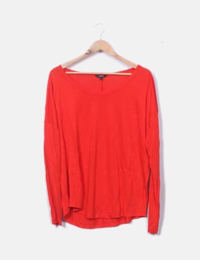 Camiseta oversize rojo