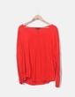 Camiseta oversize rojo MbyM