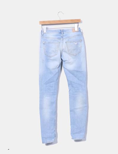 Jeans denim rotos